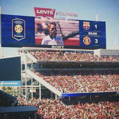 MU vs Barcelona