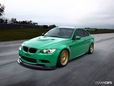 Coches verdes… – 8000vueltas.com Bmw M3, Street Racing Cars, Bmw Cars, Manual Transmission, Cars Motorcycles, Race Cars, Automobile, Bike, Vehicles