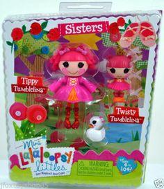 2014 Mini Lalaloopsy Sisters Pack Tippy Tumblelina Twisty Tumblelina | eBay