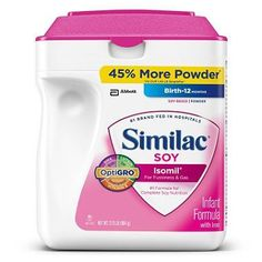 About this item - Complete Nutrition for Sensitive Tummies - Specially designed with the gentleness of soy to soothe the tummy - Easy to digest. - Features OptiGRO, an exclusive blend of important ing