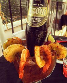#guate #antigua #antiguaguatemala #michelada #beer #chela #cerveza #birra #placeres #weather #friends #moza #shrimp #like #POTD  #igers #quepeladoguate #perhapsyouneedalittleguatemala