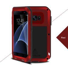 Love Mei Dirt/Shockproof Aluminum Metal Cover Case For Samsung Galaxy S7 Edge Sale - Banggood.com