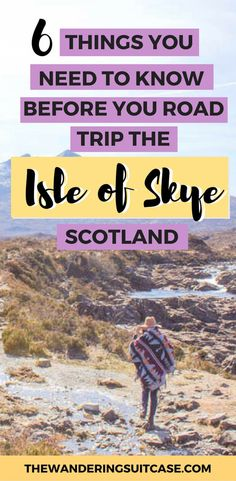 Driving guide for Isle of Skye, Scotland   Guide to Isle of Skye   Scottish Highlands   UK   United Kingdom   Scottish Roadtrips #isleofskyeguide #isleofskye #scotlandtravel via @wanderingsuitca