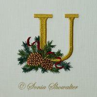 Winter Pines- U