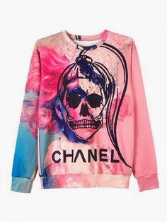 How to Chic: SKULL FAKE CHANEL SWEATSHIRT  | Fashion outfits and clothes for women
