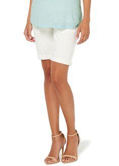 Esprit - Bermuda Shorts in Off-White