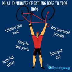 What 10 minutes of cycling does to your body