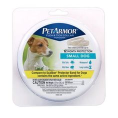 PetArmor Flea and Tick Collar for Small Dogs, 2-Count