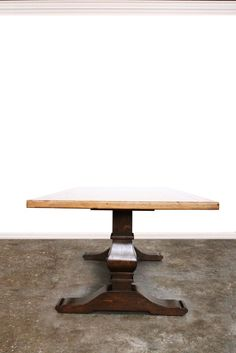 Hudson Dining Table made in house by Sharon O'Dowd