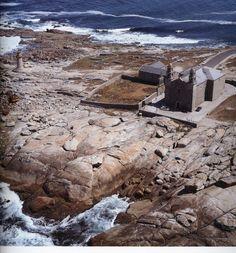 Santuario da Virxe da Barca. Muxía  (A Coruña). Galicia. Spain.
