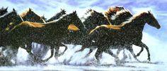 The Thundering Herd IV Art Print