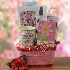 My Mom is the Best  Mothers Day Gift Basket Price: $69.95