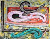 Frank Stella - Eskimo Curlew (3X), 1977, Enamel,... on MutualArt.com