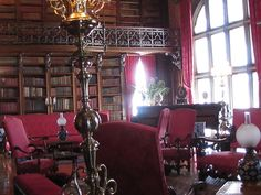Biltmore Estate Library - this was one of my favorite rooms in that house... I wish I had a library like this in my house I would literally be in it all day if I did