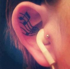 Nowadays, Youngster loved to inked tattoos on their body and music tattoo designs is also popular among Youngster. So, today we are going to post 40 best music tattoo designs for our reader. Hope our reader enjoy a list of music tattoo designs Girly Tattoos, Music Tattoos, Body Art Tattoos, Ear Tattoos, Tatoos, White Tattoos, Funny Tattoos, Awful Tattoos, Tattoos For Music Lovers