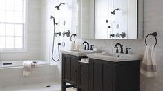 Contemporary Bathroom contemporary bathroom - Nice styling