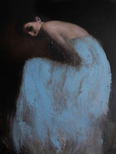 British painter Mark Demsteader is fascinated with the human form and classical themes. His latest work focuses on balanced compositions with rough surface textures. One of the oil paintings within post is of actress Emma Watson, and although painted recently, it definitely has an old era vibe.