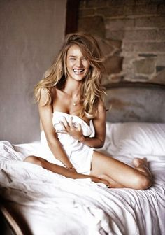 LOVE the laughter in this | Rosie Huntington-Whiteley