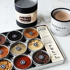 Around-the-World Hot Cocoa Spice Kit $65.00