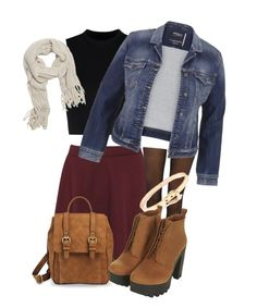 """""""Untitled #333"""" by daaaiu ❤ liked on Polyvore featuring Boohoo, Fogal, Wood Wood, maurices, With Love From CA, Merona and Topshop"""