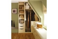 by choosing Sharps wardrobes and adding in clever touches like double hanging space and tailored shelving, you could get up to 3x more interior storage space compared to the freestanding equivalent