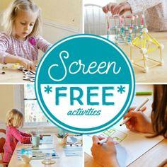 Screen Free Week Activities for Kids