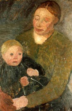 Paula Modersohn-Becker - Mother and Child