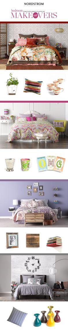 Bedroom makeovers under $150 Home Bedroom, Bedroom Ideas, Bedroom Decor, College Dorm Organization, Tranquil Bedroom, Bedroom Makeovers, Lets Stay Home, Guest Bedrooms, Beautiful Bedrooms