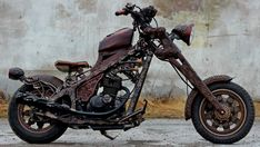 Russian Carved Wood Motorcycle Puts Other Customs to Bitter Shame [Photo Gallery]