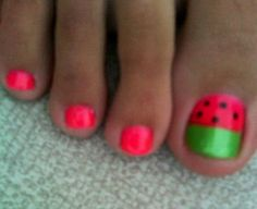 Watermelon | nail art