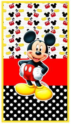 Arte Do Mickey Mouse, Mickey Mouse First Birthday, Baby Mickey, Disney Mickey Mouse, Mickey Mouse Wallpaper Iphone, Cute Disney Wallpaper, Iphone Wallpaper, Black Roses Wallpaper, Image Mickey