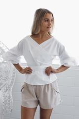 medina top - white - Esther Boutique