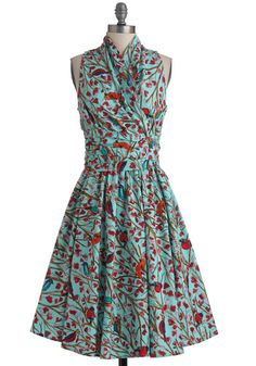 Mad Men Trudy Dress Front Perch Swing Dress $112.99 Buy at: ModCloth.com More at : http://www.vintagedancer.com/1960s/