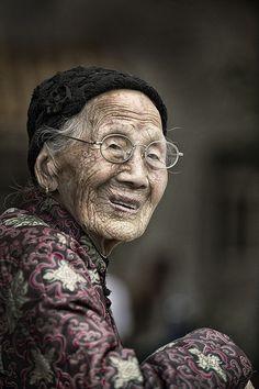 CHINA • People – Seniors by Kurt Vansteelant