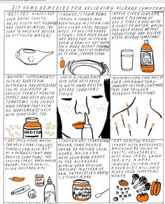 Home remedies for allergies.