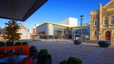 Eastern Gateway - including Y Ffwrnes theatre, Odeon cinema, hotel and office space - Part of the re-vamped Llanelli Town Centre