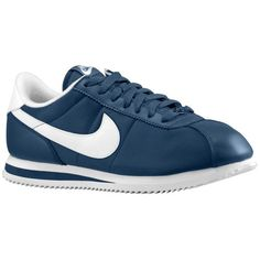 Nike Cortez - Men's - Running - Shoes - Squadron Blue/White/White
