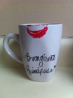 Buongiorno Principessa Mug. $5.00, via Etsy.