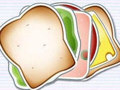 Free Printable Sandwich // Who doesn't need a printable sandwich? Perhaps use as a functional sequencing activity, or for writing activities.