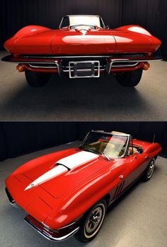 #MuscleCarMonday! How would you like this Chevy Corvette convertible? Hit the image to see...