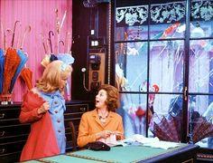 #Sixties | Catherine Deneuve and Anne Vernon in The Umbrellas of Cherbourg (Les parapluies de Cherbourg), 1964