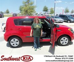 Congratulations to Dorothy Ayling on the 2013 #KIA #Soul