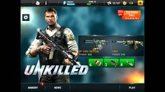 Unkilled Cheats for Ios and android - Unlimited ammo + gold and cash