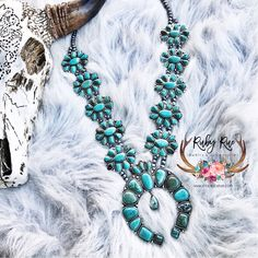 The Ruby Rue Squash – Ruby Rue Jewelry & Accessories Turquoise Cuff, Turquoise Pendant, Turquoise Earrings, Turquoise Stone, Beaded Earrings, Statement Earrings, Leather Tassel, Leather Necklace, Necklace Set