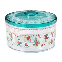 The Pioneer Woman Jolly Rosebuds Cookie Container