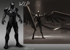 ArmorConceptWIP by ianllanas on deviantART