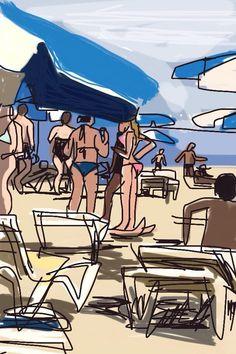 Playa Mar Bella, Barcelona