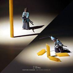 """. 2.18 thu """"Samurai sword"""" . 「こう見えて真剣に料理しているつもりですよ。」 . #真剣だけど真面目ではない #居合 #真剣 #ペンネ . ーーーーーーー #写真集第2弾予約受付中 #プロフィールのURLから飛べます ."""
