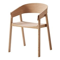 £ 325 Muuto+Cover+Chair+-+This+wooden+chair+was+born+fro Hsuseology                                                                                                                                                                                 More
