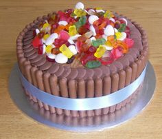 Haribo and Chocolate cake. Cake made by Bristol Kate Bakes
